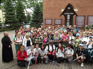Pielgrzymka Gogolin Góra Św. Anny 2012